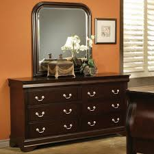Louis Philippe Furniture Bedroom Louis Philippe Style 6 Drawer Dresser With Hidden Storage And