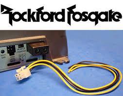 rockford fosgate 4 pin amp amplifier speaker high level input plug rockford fosgate 4 pin amp amplifier speaker high level input plug wire harness