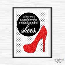 printable shoe wall art canvas es shoe es for office