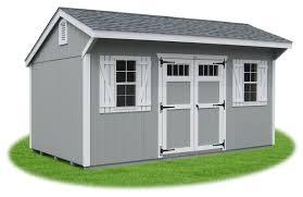 new england style cottage storage shed