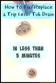 replace bathtub drain fix bathtub drain how fix bathtub drain lever creative how fix bathtub drain