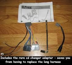 chrysler jeep dodge radio wiring harness