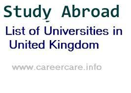 Universities Institutes Of Higher Education In United Kingdom