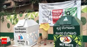 bruhat bengaluru mahanagara palike installs waste drop boxes across city to erase black spots bengaluru news times of india