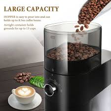 3.7 out of 5 stars with 321 reviews. Bonsenkitchen Cg8001 Conical Burr Coffee Grinder Automatic Electric B