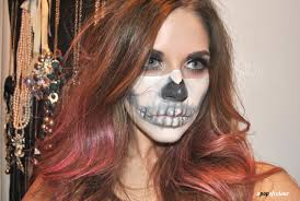 you mugeek vidalondon half skeleton makeup i absolutely loved this look and would totally rock it