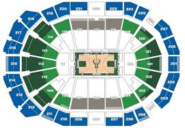Fiserv Forum Seating Chart Milwaukee Bucks Complete Milwaukee Bucks Stadium Seating Chart Milwaukee
