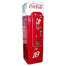Vintage Coca Cola Vending Machines For Sale Delectable Model 48 Coca Cola Vending Machine At 48stdibs