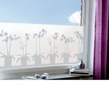 Fenster Sichtschutzfolie Klebefolie Orchidee 98 X 34 Cm Amazon De
