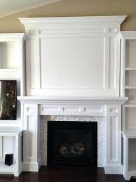 diy fireplace surrounds built in fireplace surround diy faux fireplace mantel ideas