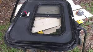 pre made teardrop trailer doors