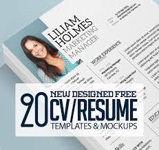 Resume Mockup Free