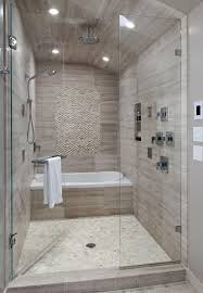 modern tile showers. Perfect Showers Modern Monochromatic Bath On Modern Tile Showers R