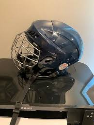 New Ccm Fl40 Senior Ice Hockey Player Helmet Cage Combo