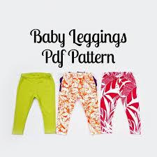 Baby Leggings Pattern Interesting Baby Leggings Sewing Pattern MammaCanDoIt