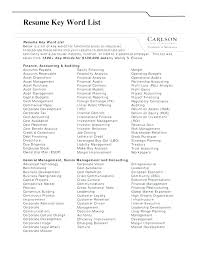 Resume Power Words Cool Power Words For Cover Letter Print List Of Power Words For Resume