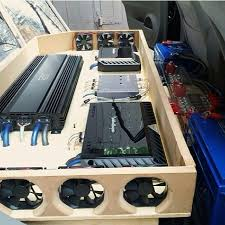 17 best images about car audio subwoofer box amp rack fans would fit great under the back seat