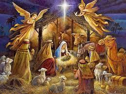 Christmas Nativity Scene Desktop Wallpaper