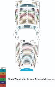 Count Basie Seating Chart State Theatre Nj Seating
