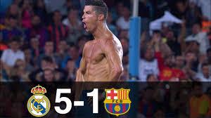 Real Madrid vs Barcelona 5-1 Goals ...