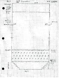 Knitting Pattern Graph Paper Knitting Graph Paper