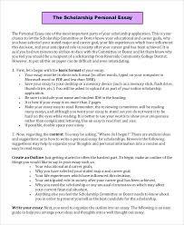 Example Of Scholarship Essay Scholarships Essay Examples Vitadance Me