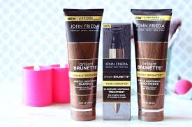 the new brilliant brunette visibly brighter s claim to be able to lighten hair