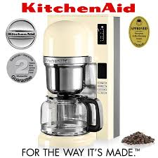 kitchenaid pour over coffee brewer almond cream