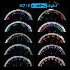 Monkeylectric Monkey Light M210 Monkeylectric M210 Monkey Light Bike Wheel Light Rei Co Op