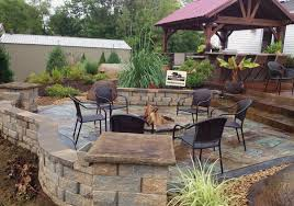 stamped concrete patio with fireplace. Modern Ideas Fire Pit Cost Spelndid Stamped Concrete Patio With Decorating 48018 Fireplace O