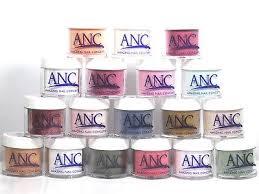 Anc Nails Color Chart Anc 2oz Dip Powder Large No Return If Seal Is Broken