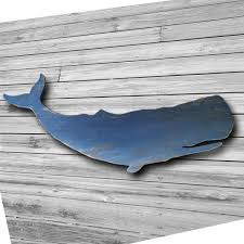 whale wall art wood distressed wood whale art wall hanging folk style 46 inch blue