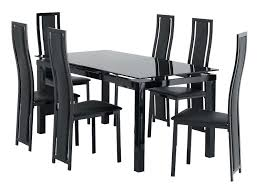 6 chair dining tables regarding room set chairs photo most fortable plans 17