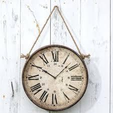 farmhouse wall clock clocks farmhouse wall clock inch wall clock vintage wall clock with roman number