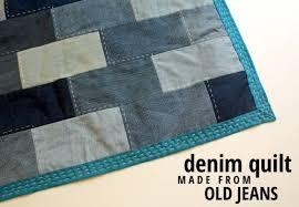 8 Denim Quilt Patterns – Quilting & 2- Denim Quilt from Old Jeans from Rachel Swartley Adamdwight.com