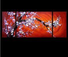 abstract art chinese cherry blossom feng shui oil paintings appealing pictures feng shui