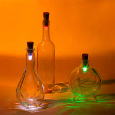 Usb Rechargeable Bottle Lights Us 9 2 54 Off Yiyang Led Cork Shaped Rechargeable Bottle Lamp Usb Night Light Stopper Cap Lamp Creative Romantic Cork Atmosphere Lights Magic In