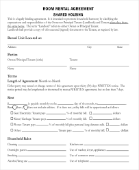 Lease Agreement Form Pdf Inspiration Roommate Lease Agreement Pdf Charlotte Clergy Coalition