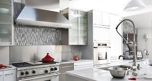snless steel kitchen backsplash geometric tile