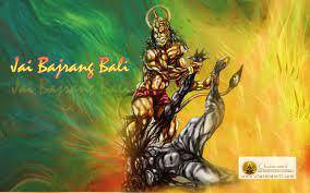Jai Bajrang Bali angry beautiful 3D HD ...