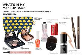 what s in your makeup bag tiffany leung january 19 2016 posted by mickey tortorelli
