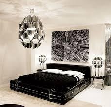 Modern Black And White Bedroom Black White Bedroom Decorating Ideas Glamorous Contempora New