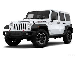 jeep wrangler 2015 white 4 door. 2015 jeep wrangler unlimited 4wd 4 door rubicon hard rock front angle medium view white