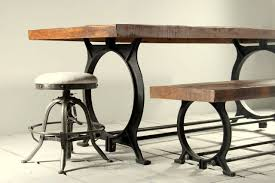 industrial dining table. Bake01 Hyatt Canning Industrial Dining Table N