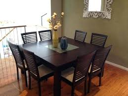 square table with 8 chairs dining table and 8 chairs set round dining room tables seats