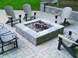 patio with square fire pit. Patio With Square Fire Pit Beautiful Versa Lok Segmental Wall And Paver I