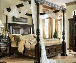 Twin Wood Canopy Bed S – locoapp