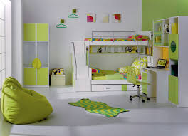bedroom ideas for teenage girls green. Interesting Teenage White Bedroom And Green Accentuation With Stacked Geometrical  Fabric Pattern Cabinet Next To The Bed For Tween Ideas Teenage Girls