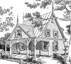 Victorian Cottage  Spitzmiller And Norris Inc  Southern Living Victorian Cottage Plans