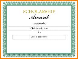 samples of certificates scholarship certificates templates free oyle kalakaari co